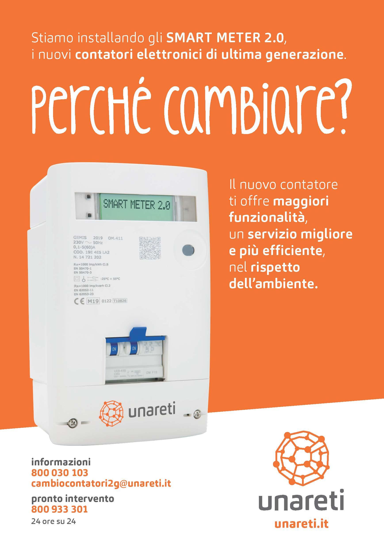 COMUNICATO A2A PER SOSTITUZIONE CONTATORI ENERGIA ELETTRICA