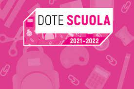 DOTE SCUOLA REGIONE LOMBARDIA 2021/2022