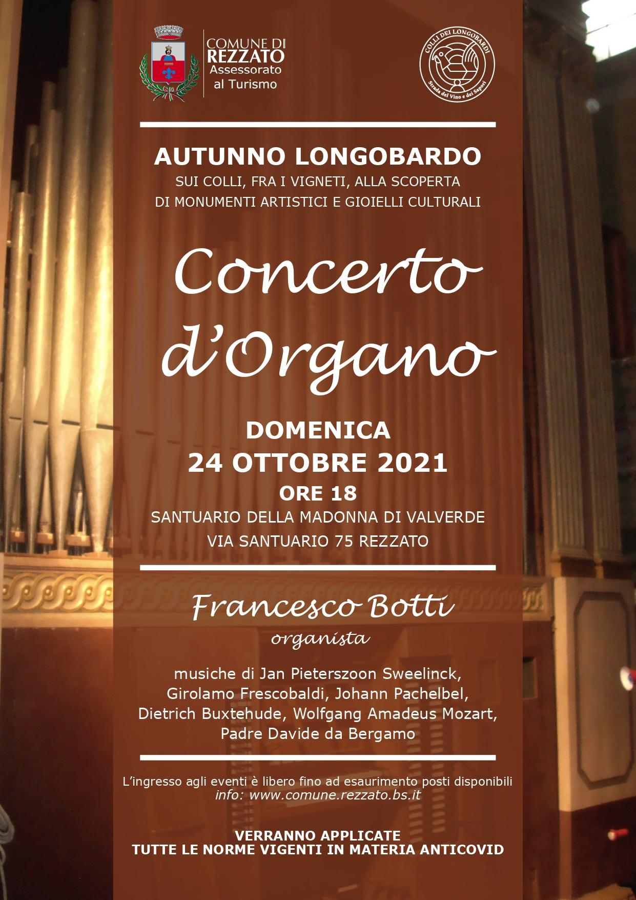 Concerto D\'organo Autunno Longobardo