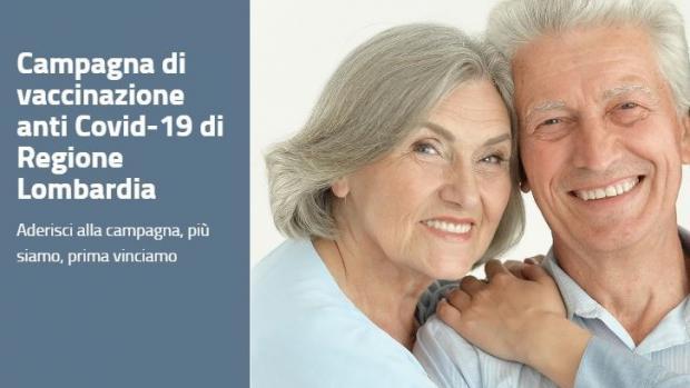 Campagna vaccinazione anti Covid-19 di Regione Lombardia